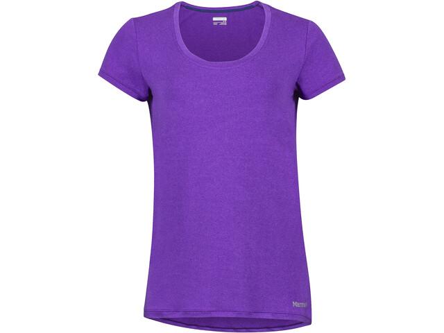 Marmot All Around - Camiseta manga corta Mujer - violeta